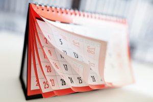 CED calendar