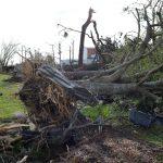 Damage in Panama City, Florida from Hurricane Michael