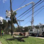 Restoration efforts in Panama City, Florida after Hurricane Michael
